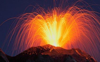 Действующие вулканы фотографа