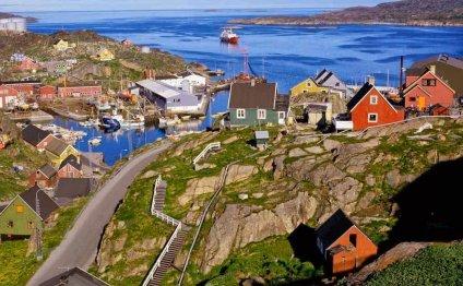 Климат Гренландии значительно