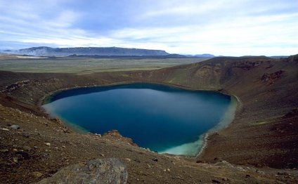 Окрестности вулкана Крафла
