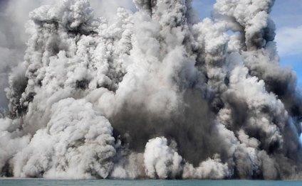 Извержение подводного