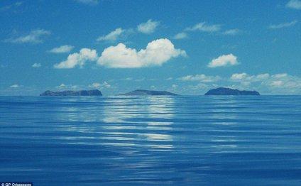 Поверхность острова оказалась
