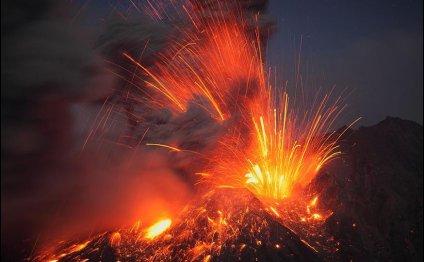 извержения вулкана : ЧП