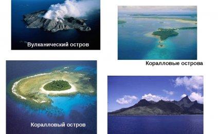 Коралловый остров Коралловые