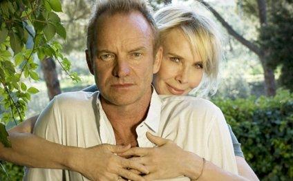 Стинг и его супруга Труди