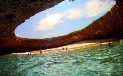 » Скрытый мексиканский пляж на