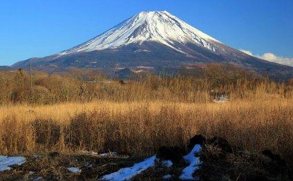 Вулкан Фудзияма — действующий